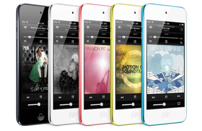 L'iPod touch di quinta generazione - Credits: courtesy of Apple